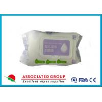 Wholesale Hand And Mouth Baby Wet Wipes Packing With Sticker / Lid Household Use from china suppliers