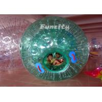 Wholesale Exciting Colorful Rolling Dia 2.6M TPU / PVC Inflatable Zorb Ball for Land and Water with Unique Design from china suppliers