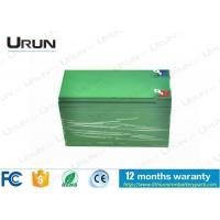 Wholesale 21Ah 12V Solar Energy Storage Battery , Sanyo Lithium Battery Pack from china suppliers