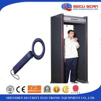 Wholesale Indoor 6 Multi Zones Walk Through Scanner Archway Metal Detectors For Security from china suppliers