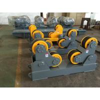 Wholesale Self Aligning Pipe Welding Rollers With 2 Sets 10T Positioner 1.5 KW Single Power from china suppliers