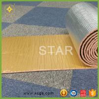 Buy cheap strong coating reflect barrier aluminium foil xpe foam heat insulatio from wholesalers