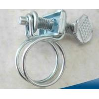 Wholesale Wire Type Hose Clamps With Handle / Stainless Steel Double Wire Hose Clips from china suppliers