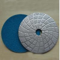 Wholesale Brazed Metal Bond Floor Polishing Velcro Pads from china suppliers