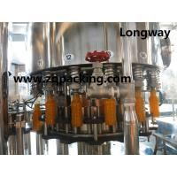 Wholesale Automatic Juce Rinsing Filling Capping Machinery from china suppliers