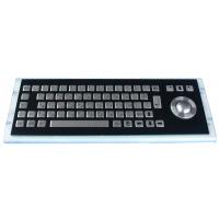 Wholesale 68 keys MINI Kiosk Black Metal Keyboard metal mechanical keyboard from china suppliers