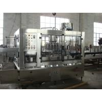 Wholesale SUS304 Hot Filling Machine / PET Bottle Filler Machine ISO SGS Certificated from china suppliers