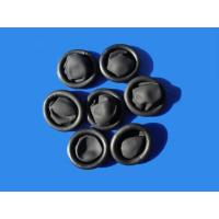 Wholesale black conductive textured powder free finger cot SML available from china suppliers