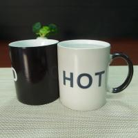 Wholesale Souvenir gift  COLD HOT heat sensitive color changing mugs stocked from china suppliers