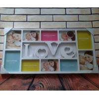 Wholesale 2015 China Hot Sale Home Decor 4*6 photo frame Multi opening LOVE plastic photo frame from china suppliers