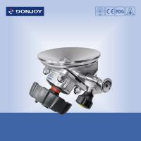 Wholesale DN25 SS 316L Tank Bottom Sanitary Diaphragm Valve , Plastic Handwheel from china suppliers
