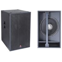 Wholesale T-118 Single 18'' subwoofer speaker box & dj equipment turntables power subwoofer from china suppliers