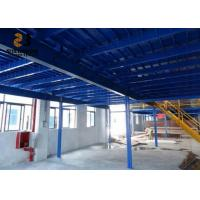 Wholesale Steel Q235 / 245 Boltless / Rivet Shelving , Warehouse Mezzanine Floors For Building from china suppliers