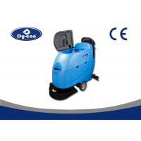 Wholesale One Key Control Compact Automatic Scrubber Floor Machine Ametek Vacuum Motor from china suppliers