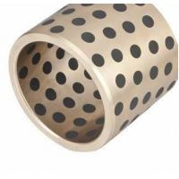 Buy cheap Bronze Cast Alloys Self Lubricating Bearings Built In Graphite Pellet from wholesalers