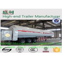 Wholesale Light  Weight Steel  LNG Semi Trailer With 3 FUWA Axles  and ABS from china suppliers