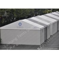 Wholesale Aluminum Alloy Frame Outdoor Exhibition Tents with Hard Wall and Electric Shutter Door from china suppliers