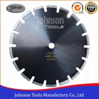 "Wholesale 12""-24"" Smooth Cutting Asphalt Saw Blades With Drop Protection Segment from china suppliers"