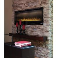 """Wholesale 50"""" insert electric fireplace heater IF-50 Full Recessed RV fireplace flat panel crystal stone log real flame decor home from china suppliers"""