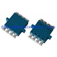 China Optical Fiber Adapter LC SM Quad Low Insertion Loss Good Compatibility on sale
