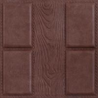 Quality-assured Beautiful decorative Factory price 3D leather wall panel