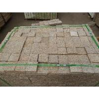 Wholesale Golden Yellow Granite Stone Cobblestone Paving from china suppliers