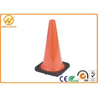 Wholesale Stackable UV Resistance 18 Inch Traffic Safety Cones with High Impact Resistant PVC from china suppliers
