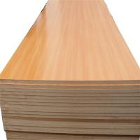 Quality plain melamine coated MDF factory direct for sale