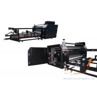 Quality 60cm Oil Drum Roller Heat Transfer Machine Garment 1.7M Printing Width for sale