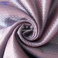 Wholesale F1152 garment lining 100% polyester taffeta jacquard dobby lining 64GSM 150CM from china suppliers