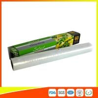 Wholesale 100% Safe Casting Processing Cling Film Wrap At Home FDA / EU Approved from china suppliers