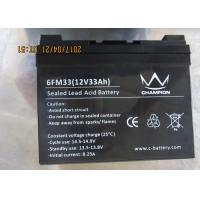 Quality Sealed Long Life Lead Acid Battery 12v 30ah agm and gel type for off grid power for sale