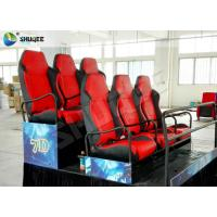 Wholesale 5D Cinema PU Leather Spray Air 6 Seat Platform Profession Cinema Equipment from china suppliers
