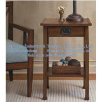 Wholesale Wood bedside tables, wood side table, wooden telephone table, wooden coffee table from china suppliers
