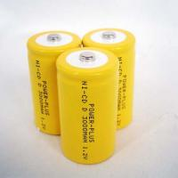 Wholesale Nicad Rechargeable Batteries Size D-3000MAH 1.2v FOR DVD, VCD, MD, CD Player from china suppliers