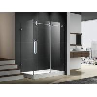 Buy cheap Hinge open zhejiang shower enclosure with stainless steel 304 accessories 6mm temper glass from wholesalers