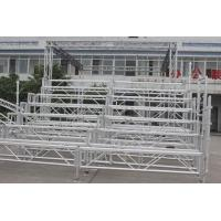 Wholesale Easy Assembled Silver Portable Indoor Bleachers Aluminium Retractable Gym Bleachers from china suppliers