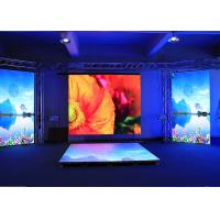 Wholesale P4 RGB LED Screen , Indoor Stage Dance Floor Led Display With Standard Cabinet 640 * 640mm from china suppliers