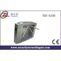 Wholesale Bridge Deluxe Automatic tripod turnstile gate Controlled Access Turnstiles from china suppliers