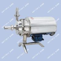 Wholesale Stainless steel sanitary pump, Food sanitary pump, milk pump, fast joint, centrifugal pump from china suppliers