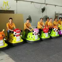 China Hansel  outdoor playground 2018 battery bumper car with coin for kids on sale
