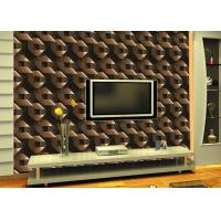 Wholesale Mould Proof home interior wallpaper , Modern Removable Wallpaper With Geometric Pattern from china suppliers