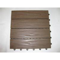 Wholesale 30mm x 30mm DIY WPC Decking Floor , Interial wood and plastic composite Decking from china suppliers
