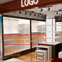 Quality shop furniture garment display,modern retail clothing shop interior design for sale