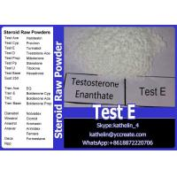 Wholesale Testosterone Anabolic Steroid Testosterone Enanthate / Test Enanthate / Test E  315-37-7 from china suppliers