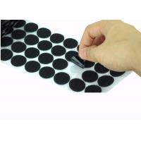 Wholesale Die Cut Back Adhesive Hook And Loop Dots 100mm Velcro Coins Bulk from china suppliers