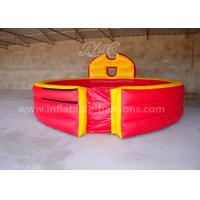 Wholesale Red Color Inflatable Gaga Ball Pit Game PVC Tarpaulin 20ft Portable For Fun from china suppliers