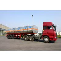 Wholesale 40800L Fuel Crude Oil Semi Tanker Trailer For Petroleum 40.8cbm 3 Axles from china suppliers