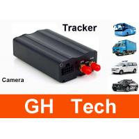 Wholesale SPY tracking device Real time car gps tracker with camera fuel sensor and temp sensor system from china suppliers