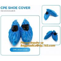 Wholesale PE material blue shoe cover cheaper disposable plastic shoe cover,Low Price plastic shoe cover medical,bagease bagplasti from china suppliers